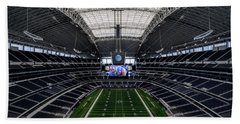 Dallas Cowboys Stadium End Zone Beach Towel