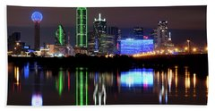 Dallas Pano 062916 Beach Towel
