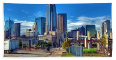 Dallas Skyline Beach Sheet