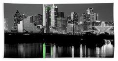 Dallas Skyline Gr91217 Beach Towel