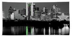 Dallas Skyline Gr91217 Beach Sheet