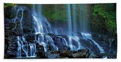 Dambri Waterfall Beach Towel