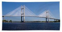 Dames Point Bridge Beach Sheet