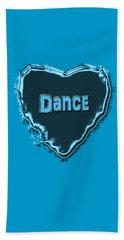 Dance Beach Towel by Linda Prewer
