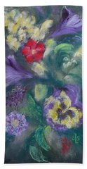 Dance Of The Flowers Beach Towel
