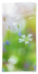 Dance Of The Nature Spirits Beach Towel