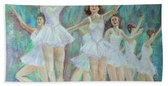 Dance Rehearsal Beach Towel