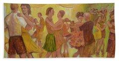 Dance Trance Beach Sheet