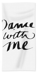 Dance With Me- Art By Linda Woods Beach Towel