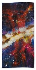 Dancers Of The Nebula Beach Towel