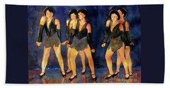 Dancers  Spring Glitz     Beach Sheet