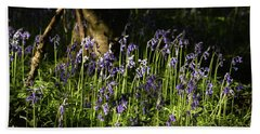 Dancing Bluebells Beach Sheet