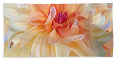 Dancing Dahlia Beach Towel