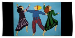 Dancing For Joy Beach Towel