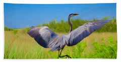 Dancing In The Glades Beach Towel