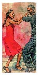 Dancing In The Street Beach Sheet