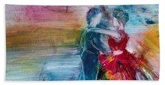 Dancing Into Eternity Beach Sheet