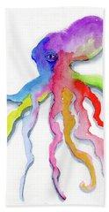Dancing Octopus Beach Sheet