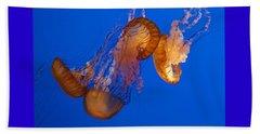 Dancing Sea Nettles Beach Sheet