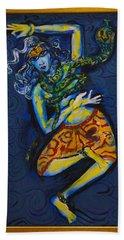 Dancing Shiva Beach Towel