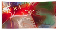 Dancing Stars Beach Towel