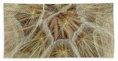 Dandelion Particles Beach Towel