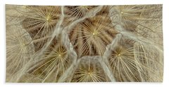 Dandelion Particles Beach Towel