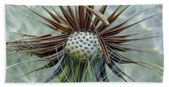 Dandelion Seeds Beach Towel