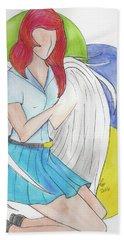 Danu Beach Towel by Loretta Nash