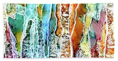 Danxia Water Falls Beach Towel
