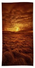 Beach Towel featuring the photograph Dare I Hope by Phil Koch