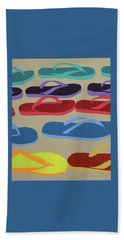 Beach Towel featuring the painting Dare To Be Different by Deborah Boyd