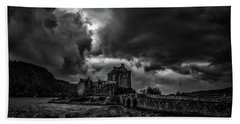 Dark Clouds Bw #h2 Beach Towel