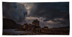 Dark Clouds #h2 Beach Towel