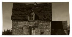 Beach Towel featuring the photograph Dark Day On Lonely Street by RC DeWinter