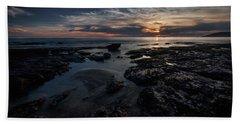 Dark  Light Beach Sheet