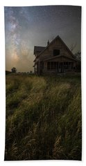 Beach Sheet featuring the photograph Dark Manor by Aaron J Groen