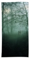 Dark Paths Beach Towel
