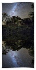 Beach Towel featuring the photograph Dark Reflection by Aaron J Groen