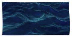 Dark Waves Beach Towel