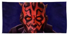 Darth Maul Dark Lord Of The Sith Beach Towel