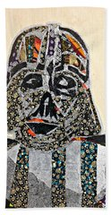 Darth Vader Star Wars Afrofuturist Collection Beach Towel by Apanaki Temitayo M