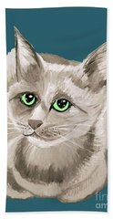 Date With Paint Sept 18 2 Beach Towel