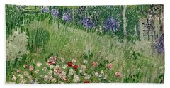 Daubigny's Garden Beach Towel
