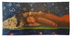 Daughter Of The Cosmos Beach Towel