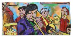 Dave Dickey Big Band Beach Towel