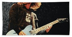 Dave Grohl Beach Towel