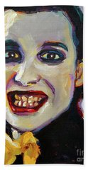 Dave Vanian Of The Damned Beach Sheet
