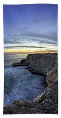 Davenport Bluffs At Sunset Beach Towel