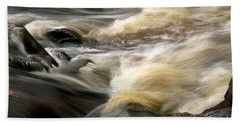 Beach Towel featuring the photograph Dave's Falls #7431 by Mark J Seefeldt